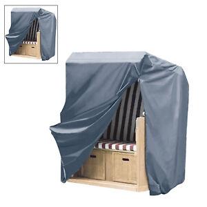 Schutzhaube Oxford 600D Strandkorb Gartenmöbel Schutzhülle Wasserdicht 0940048