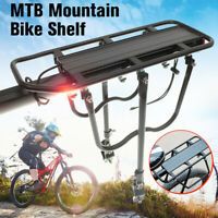 Bicycle Mountain Bike Rear Rack eat Black Post Mount Pannier Luggage Carrier