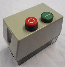 ELECTRIC MOTOR STARTER DIRECT ONLINE DOL SINGLE PHASE 240V 1.1, 2.2, 3.0 4.0KW