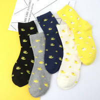 Duck Animal Socks Women Winter Autumn Warm Sock Soft Cotton Casual Sock