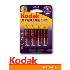 1 x 4 Batterie AA Stilo Alkaline Kodak XTRALIFE KAA-4 LR6 MN1500 Mignon E91