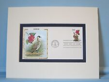 State Bird & Flower of Hawaii - Hawaiian Goose & Hibiscus & First Day Cover