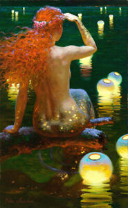 For Victor nizovtsev Mermaid HD Canvas Printing Home Wall Decor Multisize