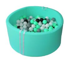 Dry pools with balls for children  Mint - 90x40 - 250 balls