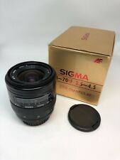 SIGMA UC 1:3.5-4.5 28 – 70mm MC AUTO FOCUS ZOOM LENS WITH OLYMPUS AF MOUNT BOX