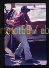 Terry Ryan #81 Chevy in Pits - 1976 NASCAR Daytona 500 - Vtg 35mm Race Slide