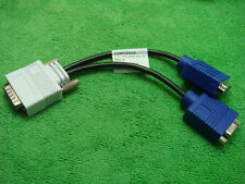 Hp DMS 59-PIN DVI to 2 VGA VIDEO DUAL SCREEN MONITOR MAC PROJECTOR AV CABLE