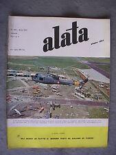 ALATA # 192 - RIVISTA AERONAUTICA - GIUGNO 1961 - BUONO