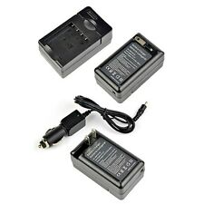 Battery Charger for Panasonic DMW-BCF10E Lumix DMC-FH20S DMC-FH22 DMC-FH22K USA