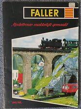 Faller  -- Modellbau  Katalog   - Sprache Niederländisch