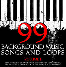 BACKGROUND MUSIC SONGS & LOOPS DVD Produce Cool Content
