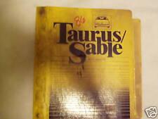 1986 Ford Taurus/ Sable Service Manual