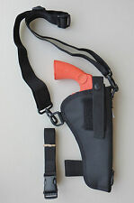 "Bandolier Shoulder Holster for 6"" Revolver Fits RUGER, S & W, COLT"