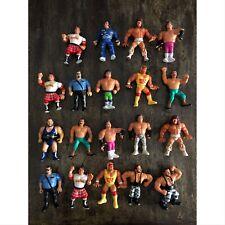 WWF HASBRO BUNDLE 15 Action Figure LOTTO wcw WWE TITAN SPORT