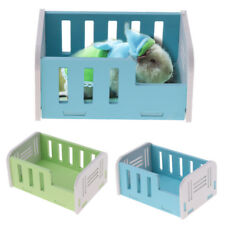 Wooden House Bed Small Animals Hamster Hut Cage Accessories Exercise Toy