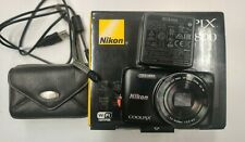 Nikon Coolpix S6800 Digital Camera Black with charger, case