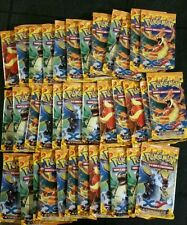 Pokémon French XY Flashfire Booster Box Lot 36 Packs loose Etincelles L@@K!!