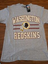 Nfl Team Apparel Men's New Washington Redskins Gray Heathered Soft Xl T-Shirt
