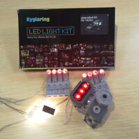 upgrade LED light kit for LEGO 10265 Ford Mustang + battery box with 2 usb port