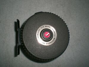 GARCIA MITCHELL 710 AUTOMATIC FLY REEL WITH LINE MADE IN FRANCE