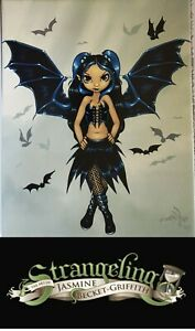 NEW JASMINE BECKET GRIFFITH ART TILE GOTHIC FAIRY 8 X 10 BAT WINGS FREE POST