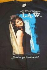 Xl Lee Ann Womack Breaking The Law Black T-Shirt By Murina
