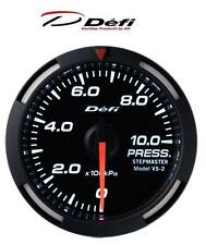Defi Racer 60mm Car Oil Pressure Gauge - White - JDM Style Stepper Motor