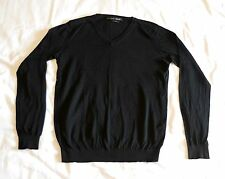 Mens ZARA  sweater jersey. Silk & cotton Size L