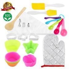 40 piece Cupcake Baking kit, Great Baking Set & Gift Ideas, Colorful