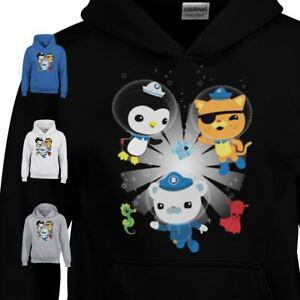 The Octonauts Station Kids Jumper CBeebies Series Xmas Gift Top Christmas