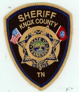 TENNESSEE TN KNOX COUNTY SHERIFF USED SHOULDER PATCH POLICE