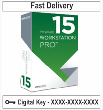 VMware Workstation 15 Pro Lifetime digital License Genuine UNLIMITED PC✅