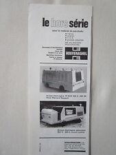 5/1971 PUB HOUVENAGHEL FECAMP GROUPE ELECTROGENE DASSAULT MERCURE ORIGINAL AD