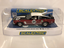 Scalextric C3926 Ford MUSTANG 1970 Frank Gardner Neuf Emballé