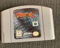 Turok 2: Seeds of Evil N64 Cleaned Tested Authentic Nintendo 64 OEM Cartridge