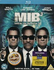 MEN IN BLACK 3 - Will Smith - Blu-Ray *NEW & SEALED* *With Slipcover*