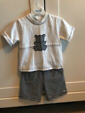 Emile Et Rose New Baby 6mth Shorts T-shirt Top Outfit Gift Baby Boy Clothing Sum