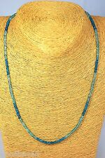 APATIT Paraiba Kette Collier 43,10ct.!!! A Schmuck Edelstein Heilstein Halskette