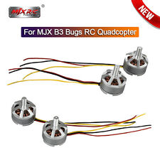 4pcs CW+CCW Brushless Motor Engine Spare Parts & Accs For MJX B3 Bugs 3 RC Drone