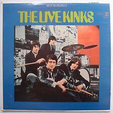 THE KINKS: LIVE KINKS rare REPRISE vinyl lp USA / STUNNING NM- beauty