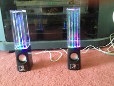 JOB LOT REDUCED AMAZING NEW WATER FOUNTAIN SPEAKERS  THE PERFECT GIFT £8.99 pair