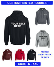 Custom Printed Personalised Hoodies, Hoodie, Work Wear Unisex  Hoody