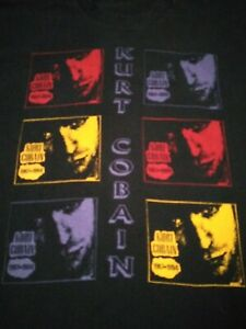 kurt cobain t shirt vintage
