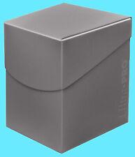 ULTRA PRO Deck Box ECLIPSE PRO-100+ SMOKE GREY w/ DIVIDER card storage case ccg