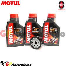 KIT TAGLIANDO OLIO + FILTRO MOTUL 7100 10W60 GILERA 800 GP 2008