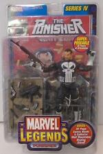 Marvel Legends: Punisher Action Figure (2003) Toy Biz Unopened Series IV