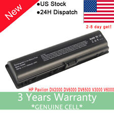 Battery for HP Pavilion DV2000 DV6000 DV6100 DV6500 DV6700 V3000 V6000 / Charger