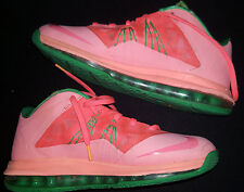 best loved c7bbe 025e4 LEBRON JAMES NIKE Mens Sneakers Shoes 2013 X LOW Watermelon Orange Size 8