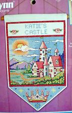 "Janlynn / Sandy Garbrandt ""Castle Banner"" Counted Cross Stitch Kit"