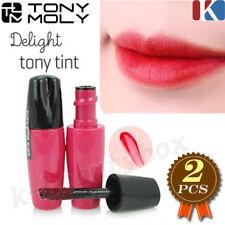TONYMOLY Delight Tony Lip Tint 5g #Red 2pcs Lip Tint Lip Stain Korean Cosmetics